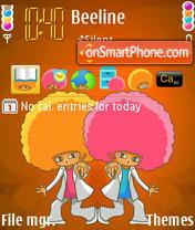 Afro es el tema de pantalla