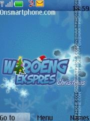 Waroeng Express Christmas es el tema de pantalla