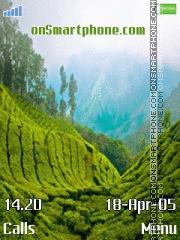 Munnar Valley es el tema de pantalla