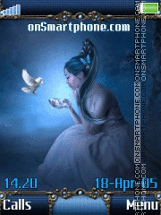 Blue Fairy 02 es el tema de pantalla