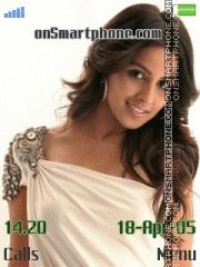 Genelia Dsouza 12 theme screenshot