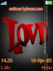 Love 22 es el tema de pantalla