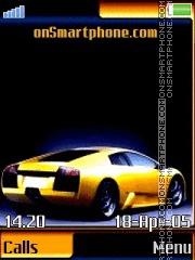 Lamborghini 18 theme screenshot