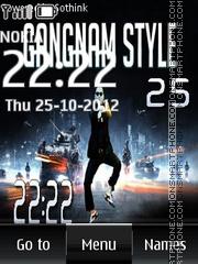 Gangnam Style Digital es el tema de pantalla