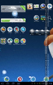 Capture d'écran Bubble 02 thème
