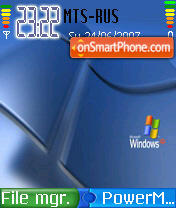 Windows XP 07 theme screenshot