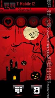 Halloween Night 05 theme screenshot