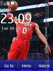 All star 2012 theme screenshot