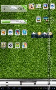 Capture d'écran Green Z.Pitch thème