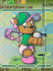 Golfer 01 theme screenshot