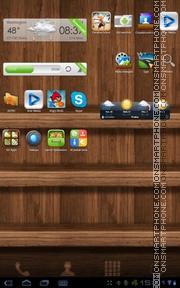 Wood 06 es el tema de pantalla