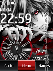 Anime Dual Clock es el tema de pantalla