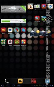 Capture d'écran SpotColor thème