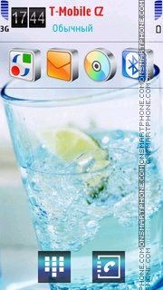 Drink With Ice theme screenshot