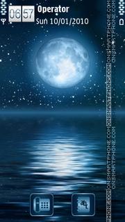 Full Moon es el tema de pantalla