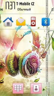 Music 5334 es el tema de pantalla