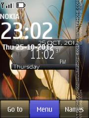 Windows live nature es el tema de pantalla