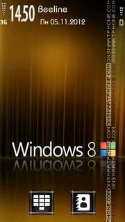 Windows 8 tema screenshot