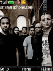 Linkin Park 12 theme screenshot