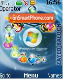 Livemessenger es el tema de pantalla