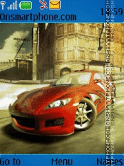 NFS MW theme screenshot