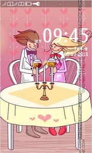 Cute Love 09 theme screenshot