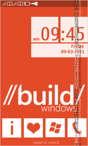 Build Windows theme screenshot