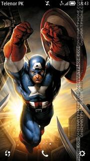 Capture d'écran Captain thème