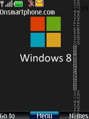 Windows 8 Icons theme screenshot