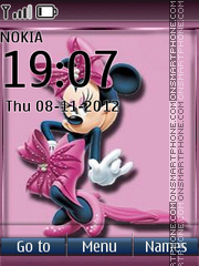 Minnie Mouse 06 theme screenshot