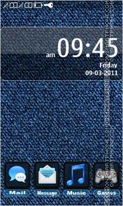 Скриншот темы Jeans Style
