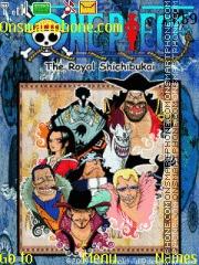 One Piece 7 Shichibukai theme screenshot