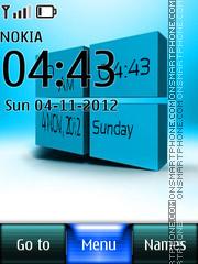 Windows 8 Digital theme screenshot