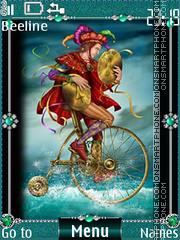 Cards tarot coins es el tema de pantalla