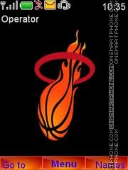 Miami NBA theme screenshot