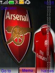Arsenalfc theme screenshot