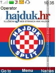 Hajduk Split theme screenshot