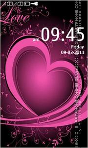 Hd Hearts theme screenshot