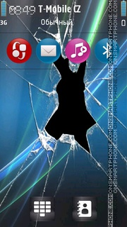Broken Vista v5 theme screenshot