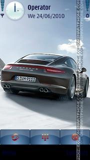Porsche 2 theme screenshot