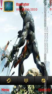 Crysis 3 theme screenshot