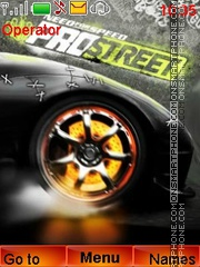 Need For Speed ProStreet theme screenshot