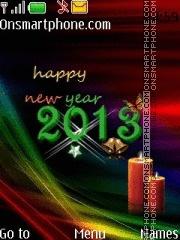 New Year 07 es el tema de pantalla