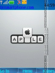 Apple 25 theme screenshot