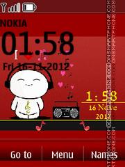 Love Music 04 es el tema de pantalla