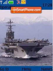 Aircraft Carrier theme screenshot