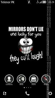 Capture d'écran Mirror thème