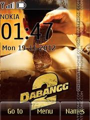 Dabangg 2 theme screenshot