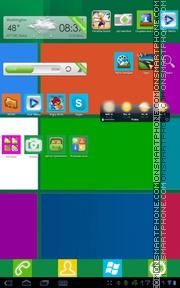 Windows 8 11 theme screenshot
