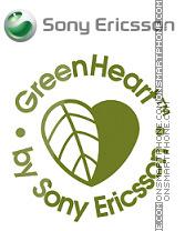 Britto Green heart es el tema de pantalla